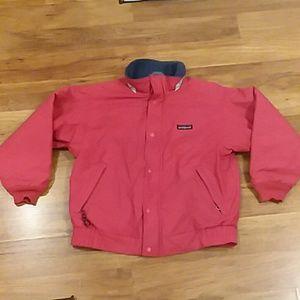 Patagonia kids red vintage jacket size 8